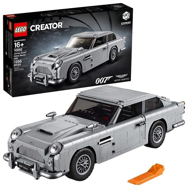 LEGO Creator James Bond Aston Martin 3