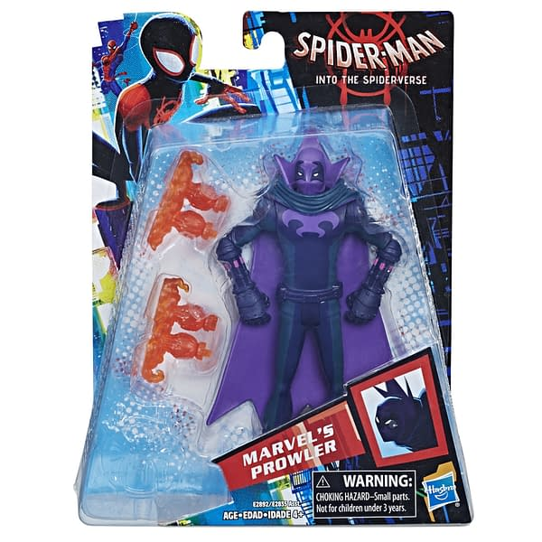 MARVEL SPIDER-MAN INTO THE SPIDER-VERSE 6-INCH Figure Assortment (Marvel's Prowler) - in pkg