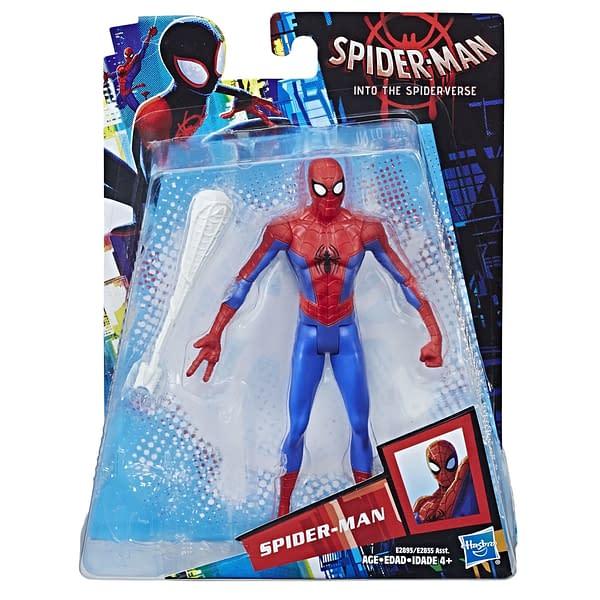 MARVEL SPIDER-MAN INTO THE SPIDER-VERSE 6-INCH Figure Assortment (Spider-Man) - in pkg