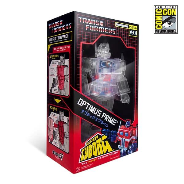 Super7 Transformers Optimus Prime Super Cyborg SDCC Exclusive