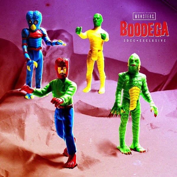 Super7 Universal Monsters Bodega SDCC ReAction Figures