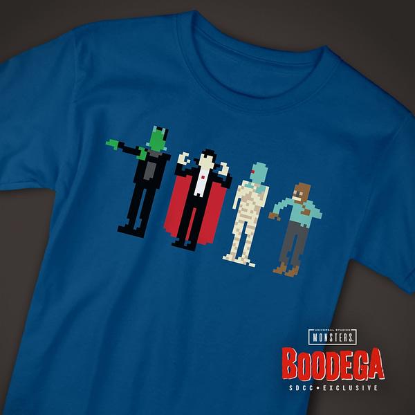Super7 Universal Monsters Bodega SDCC Shirt 3