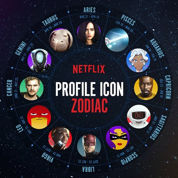 Netflix Wants to Know Your Sign with New Zodiac Chart