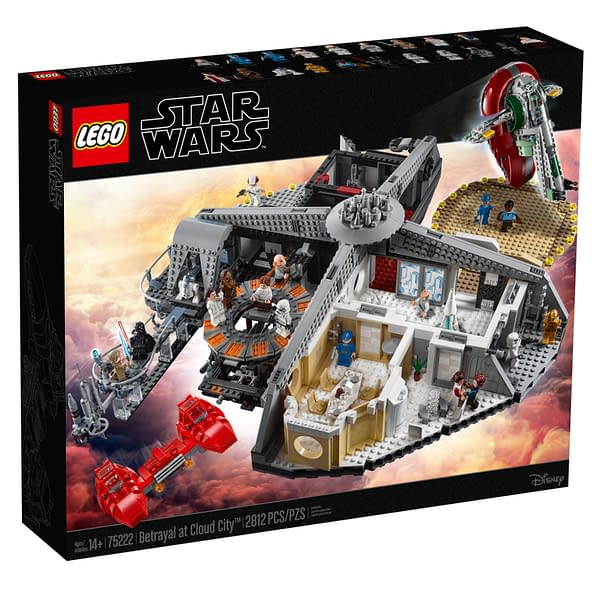 LEGO Star Wars Betrayal at Cloud City 1