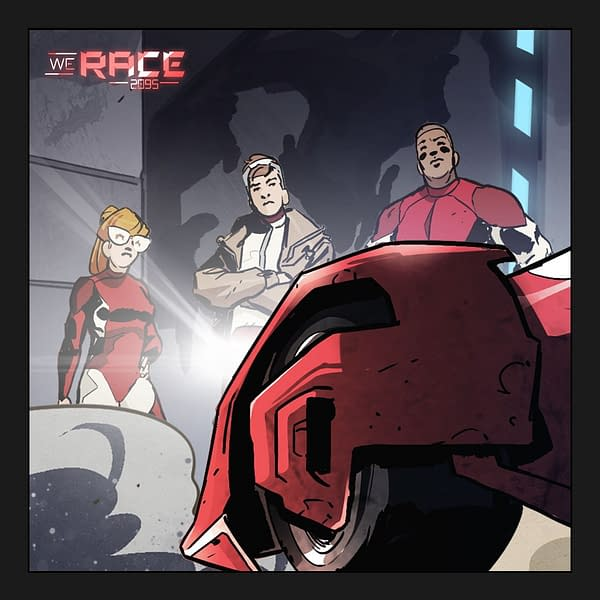 ScuderiaFerrari Launches 'We Race Comic' About Self-Racing Cars
