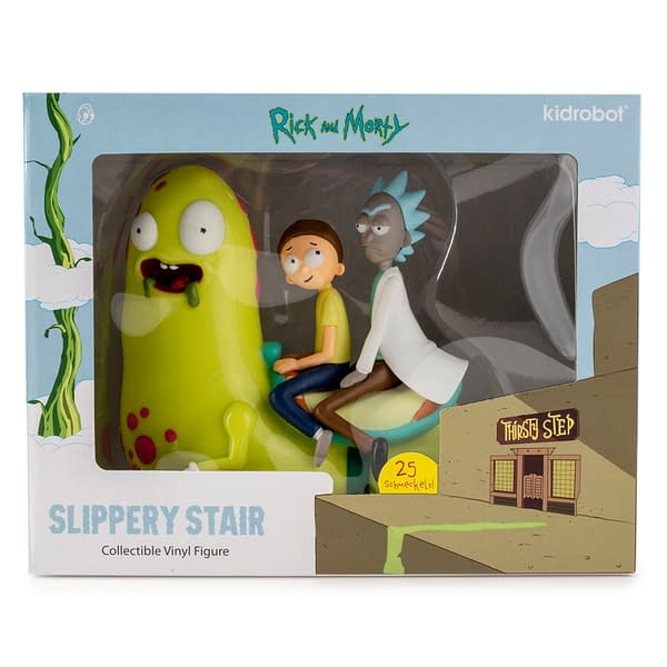Kid Robot Rick and Morty Slippery Stair Figure 5