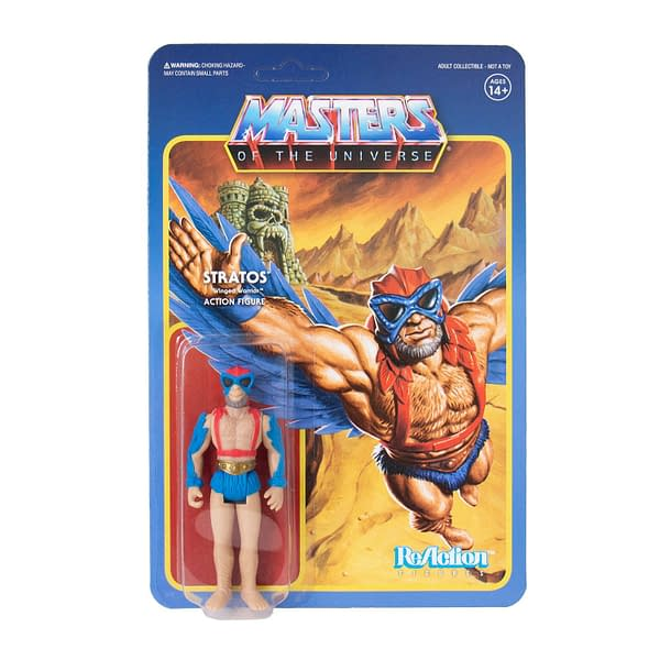 Super7 Masters of the Universe Power-Con Exclusive ReAction Figures 8