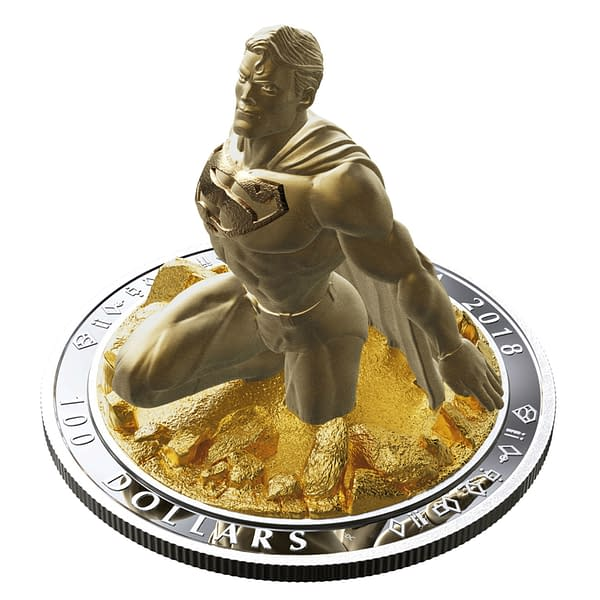 Check Out Jason Fabok's $100 3D Superman Coin for the Royal Canadian Mint