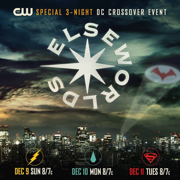 This Year's Arrowverse Crossover is Titled Elseworlds