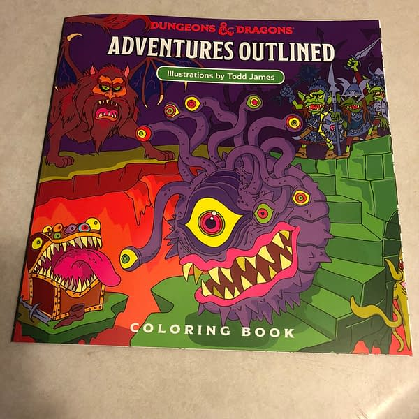 Coloring the Eyestocks: We Review D&D's Adventures Outlined