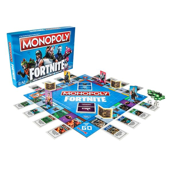 Fortnite is Getting a Version of Monopoly