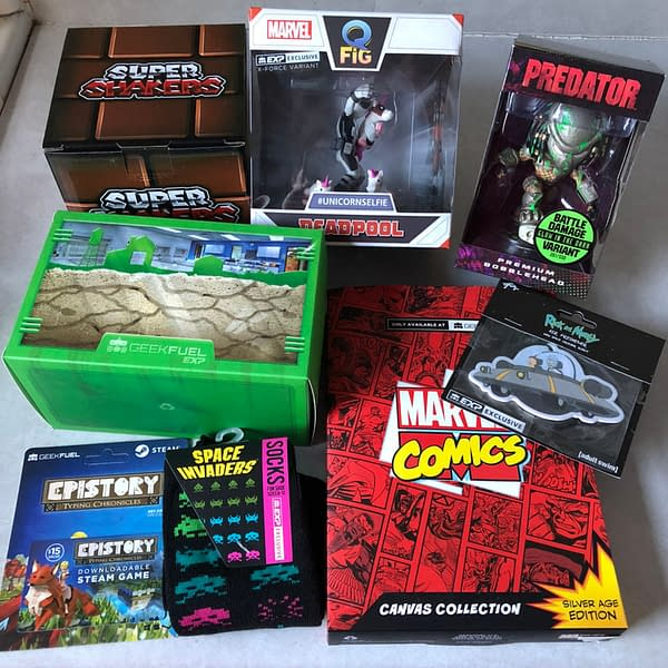 What's in the Box?!: Geek Fuel EXP Vol. 2