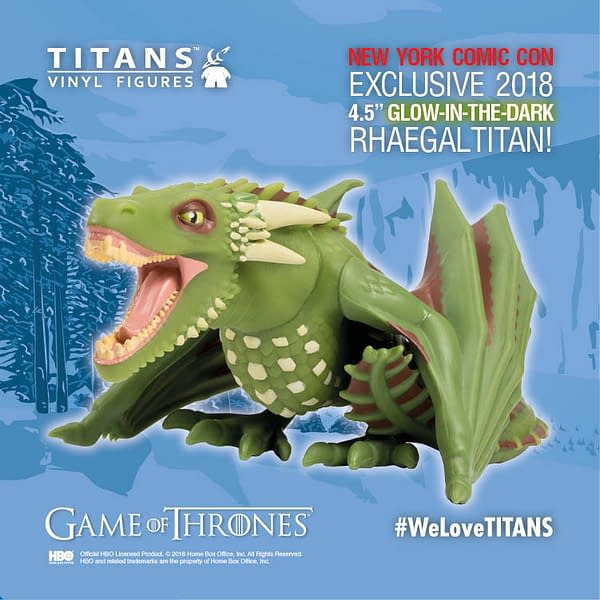 Exclusive – Vinyl Titans for NYCC, Doctor Who, Game of Thrones and Twin Peaks