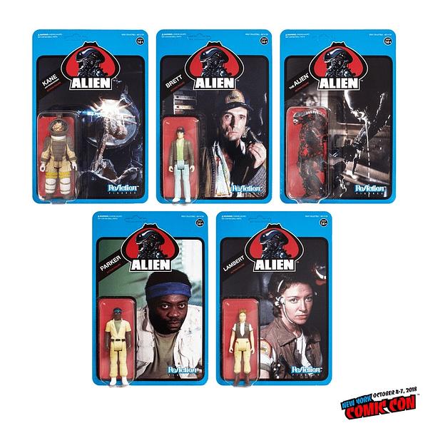 Super7 Alien ReAction Figures NYCC Exclusive