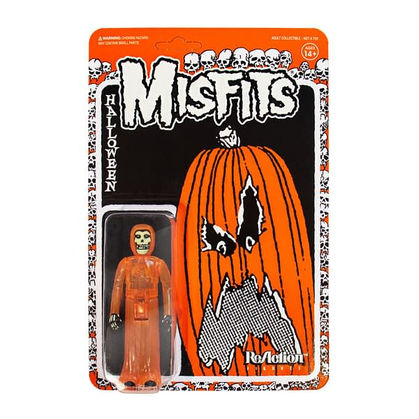 Super7 Misfits Halloween ReAction Figure NYCC Exclusive
