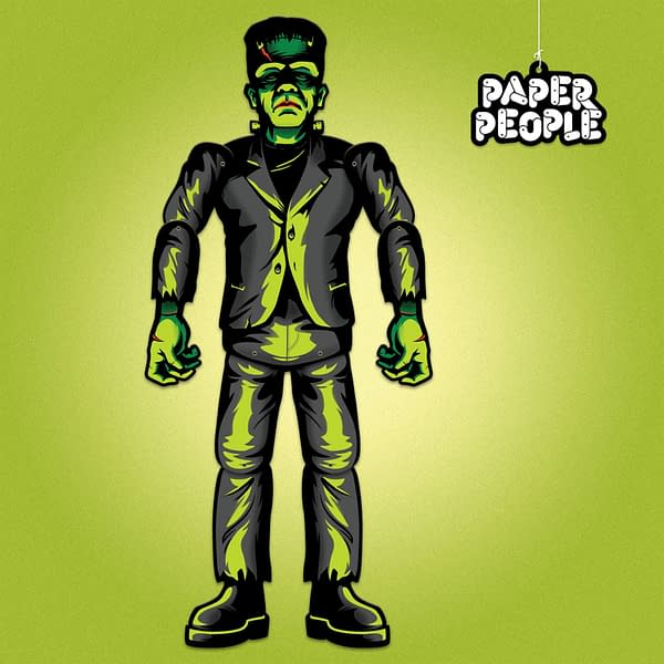 Super7 Universal Monsters Paper People NYCC Exclusive 1