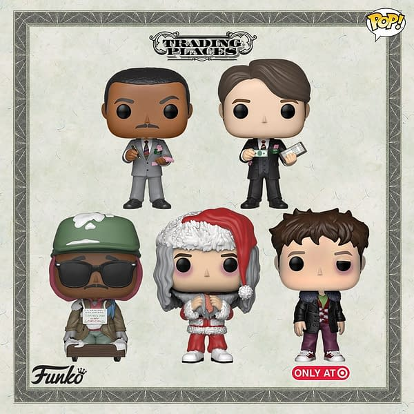 FUNKO Has 'Trading Places' Pops Coming, But No Jamie Lee Curtis?!