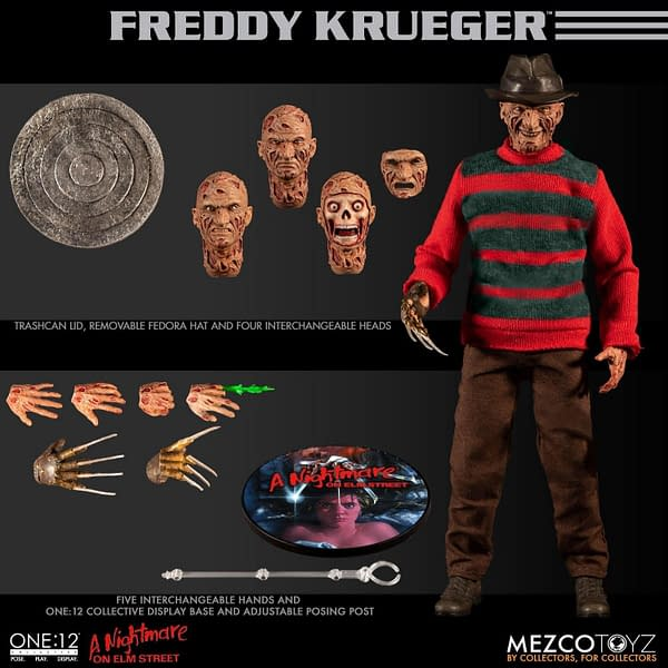 Nightmare on Elm Street Freddy One 12 Collective Figure 9