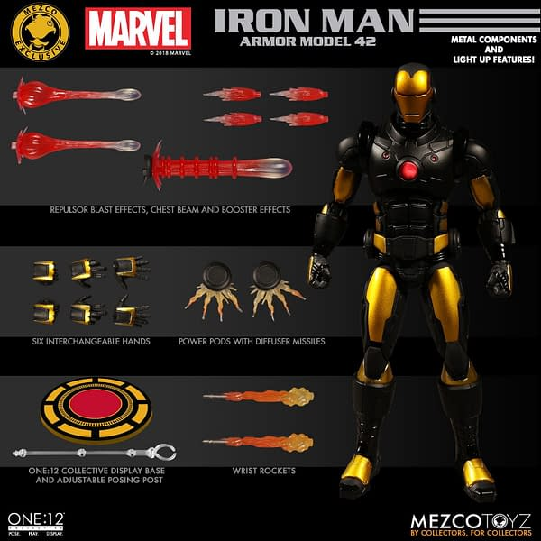 One 12 Collective Mark 42 Iron Man 9