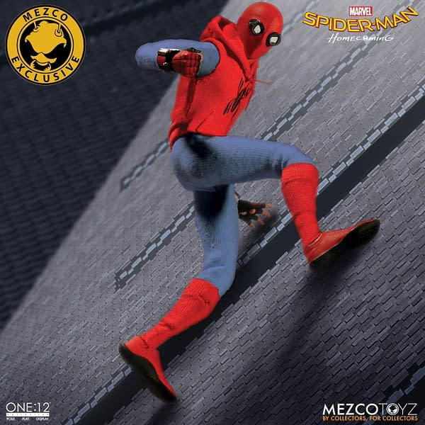 One-12 Collective Spider-Man Homcoming Homemade Suit