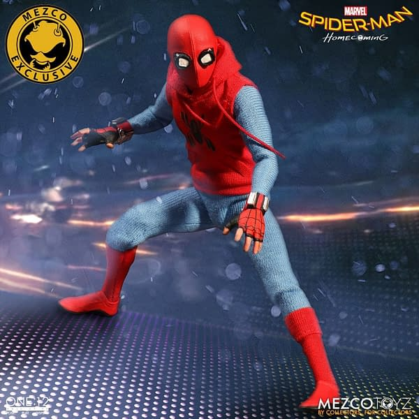 One-12 Collective Spider-Man Homcoming Homemade Suit 2