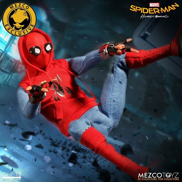 One-12 Collective Spider-Man Homcoming Homemade Suit 7