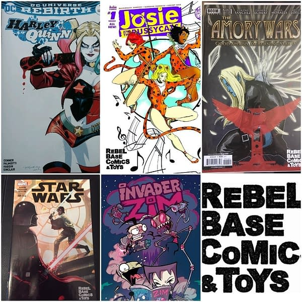 Comic Books Stolen From Rebel Base in Charlotte, North Carolina