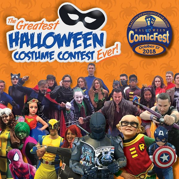 Cosplay at Your Comic Store For Hallowe'en and You Could Win $500