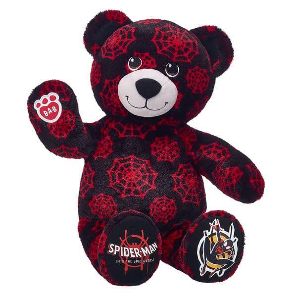 Build a Bear Spider-Verse Miles Bear