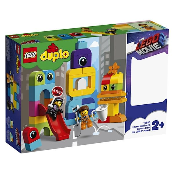 LEGO Movie 2 Emet and Lucy Duplo Vistors