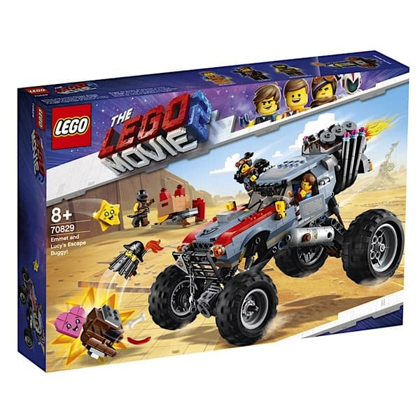 LEGO Movie 2 Emmet and Lucys Escape Buggy 1