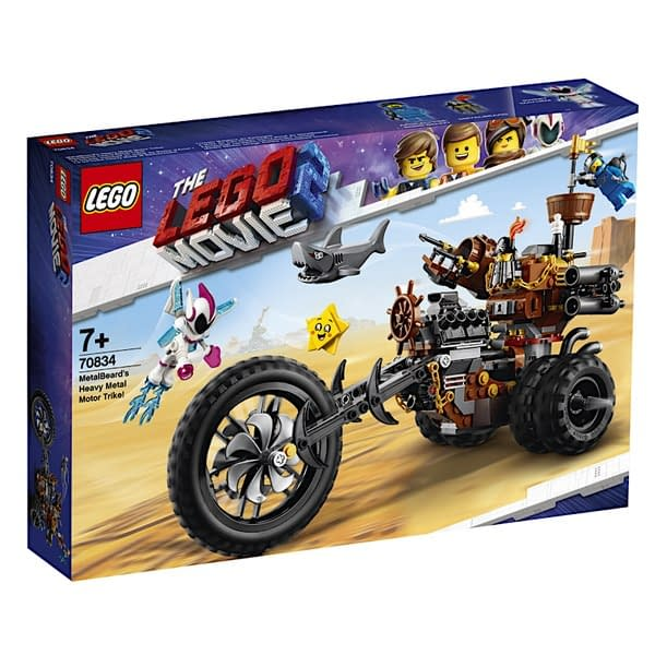 LEGO Movie 2 Metalbeards Motor trike 1