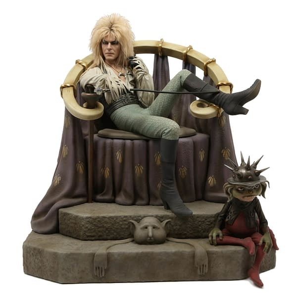 Labyrinth Jareth Statue Chronicle 1