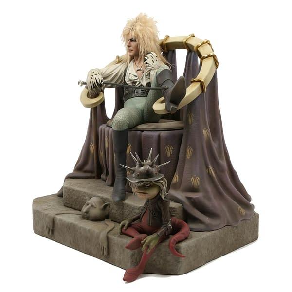 Labyrinth Jareth Statue Chronicle 2