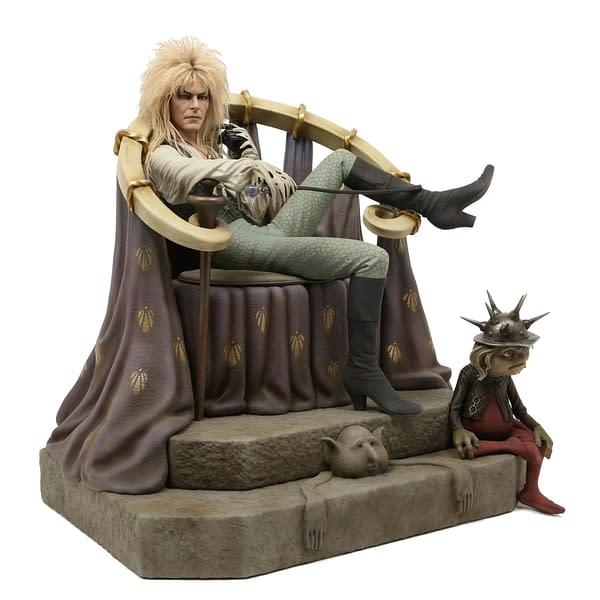 Labyrinth Jareth Statue Chronicle 4
