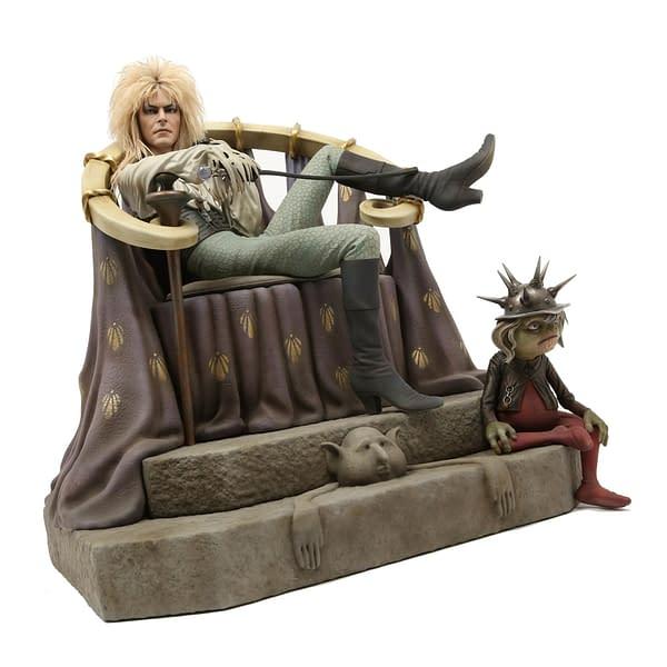 Labyrinth Jareth Statue Chronicle 7