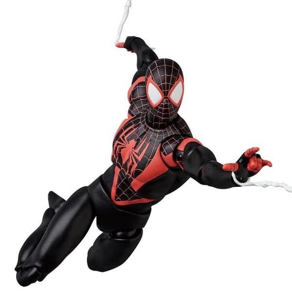 Miles Morales MAFEX Figure 4