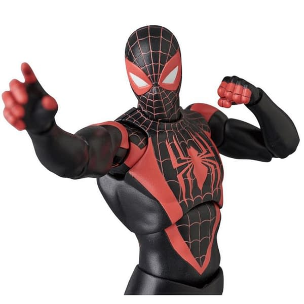 Miles Morales MAFEX Figure 7