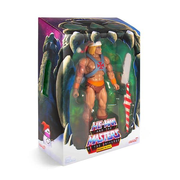 Super7 Masters of the Universe Club Grayskull Holiday He-Man 2