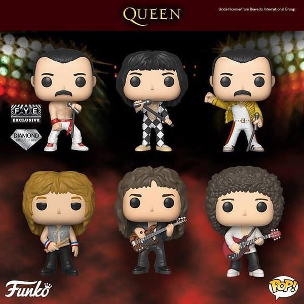 FUNKO Has Queen Pop Vinyls Coming in December!