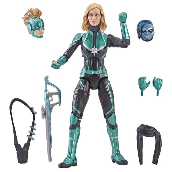 Marvel Legends Captain Marvel Starforce Figure 1