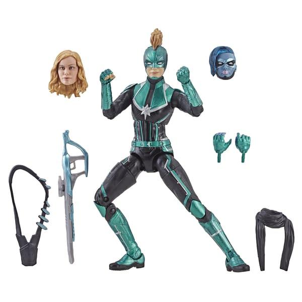 Marvel Legends Captain Marvel Starforce Figure 2