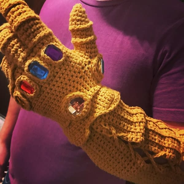 An Infinity Gauntlet Of Wool For Christmas