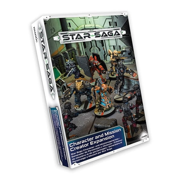 Character and Mission Expansion for Mantic's 'Star Saga': Review