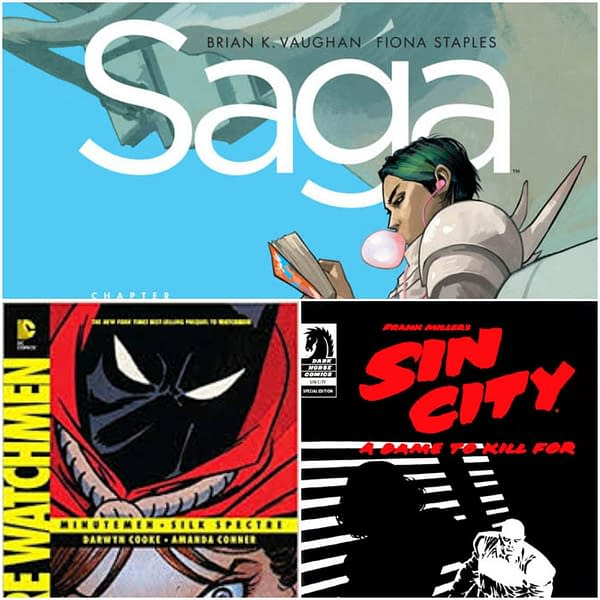 Saga, Sin City and Before Watchmen Banned in Louisiana Prisons