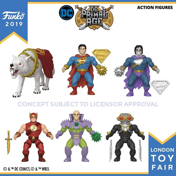 Funko London Toy Fair DC Primal Age 1