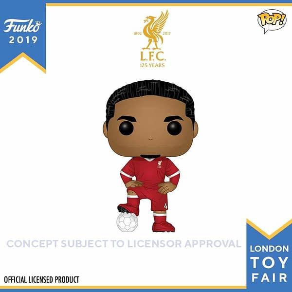 Funko London Toy Fair Football 4