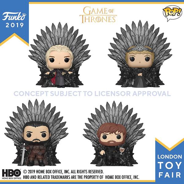 Funko London Toy Fair Game of Thrones 2