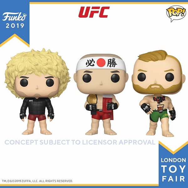 Funko London Toy Fair UFC