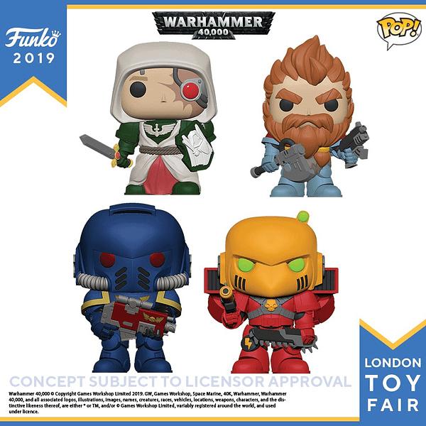 Funko London Toy Fair Warhammer 40k